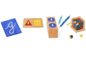 Google Montessori Doodle