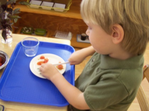 Montessori and Me is a bilingual