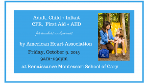 Adult, Child + InfantCPR + First Aid